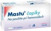 Čípky k léčbě hemeroidů Mastu