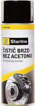 Čistič brzd bez acetonu Starline