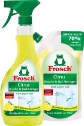 Čistič na sprchové kouty a vany Frosch
