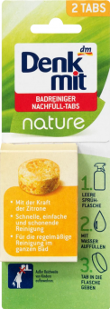 Čistič koupelen v tabletách Nature Denkmit