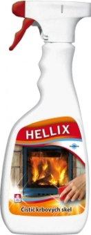 Čistič na krbová skla Hellix