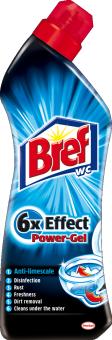 Čistič WC gelový Effect Bref