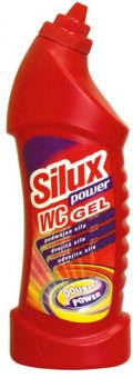 Čistič WC gelový Power Silux