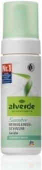 Pěna pleťová čistící s hedvábím Alverde