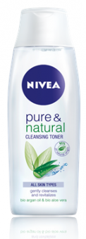 Pleťová voda čistící Pure&Natural Nivea