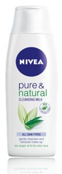 Mléko pleťové čistící Pure&Natural Nivea