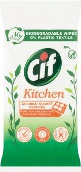 Čisticí vlhčené ubrousky do kuchyně Cif