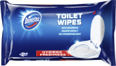 Čisticí vlhčené ubrousky na toaletu splachovatelné Domestos