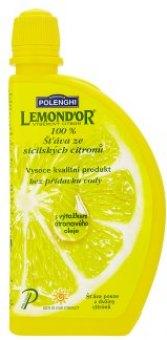 Šťáva citronová Polenghi