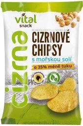 Cizrnové chipsy bez lepku Vital snack