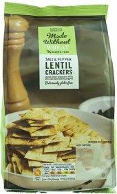 Čočkové chipsy bez lepku Marks & Spencer