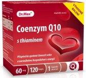 Doplněk stravy Coenzym Q10 s thiaminem Dr.Max