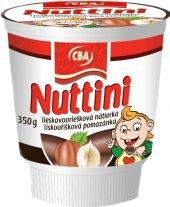 Lískooříšková pomazánka Nuttini CBA
