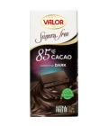 Čokoláda bez cukru Valor