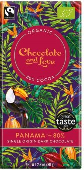 Čokoláda bio Chocolate & Love