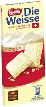 Čokoláda Die Weisse Nestlé