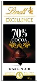 Čokoláda Excellence Lindt