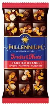 Čokoláda Fruits&Nuts Millennium
