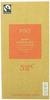 Čokoláda Marks & Spencer