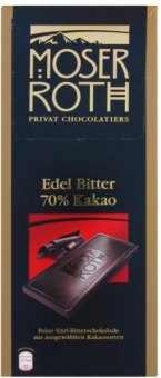 Čokoláda Moser Roth