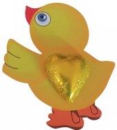 Čokoláda na kartě - kuřátko Čokoládovny Fikar