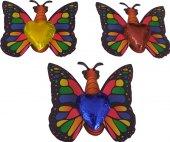 Čokoláda na kartě - motýl čokoládovny Fikar