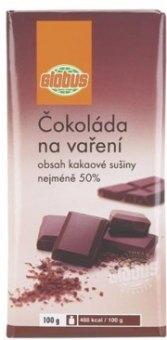 Čokoláda na vaření Globus