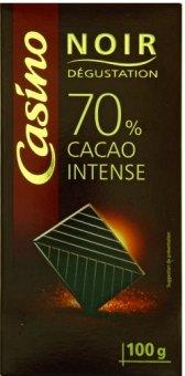 Čokoláda Noir Dégustation Casino