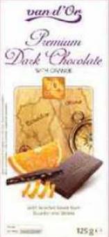 Čokoláda Premium Van D'or