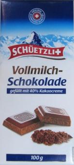 Čokoláda švýcarská Schüetzli