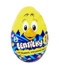 Čokoládová kuřátko ve vajíčku s lentilkami Orion