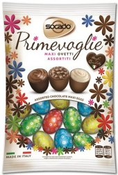 Čokoládová vajíčka Socado