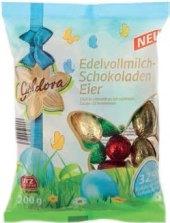 Čokoládová vajíčka Goldora