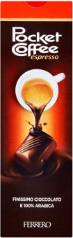 Čokoládové bonbony Pocket Coffee Espresso Ferrero