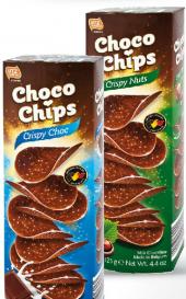 Chipsy čokoládové