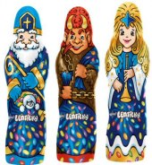 Čokoládové figurky vánoční s lentilkami Orion