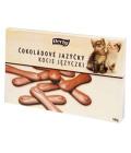Jazýčky čokoládové Derby