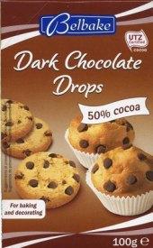 Kapičky čokoládové Belbake