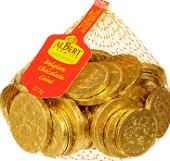 Čokoládové mince Albert Premier
