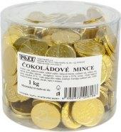 Čokoládové mince Poex