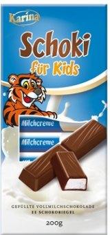 Tyčinky čokoládové Karina