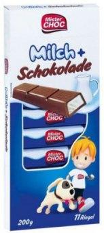 Čokoládové tyčinky Mister Choc