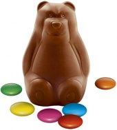 Čokoládový medvídek s lentilkami Orion