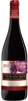Víno červené Côtes du Rhône Primeur