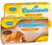 Croissant s čokoládovou náplní Nastrecce