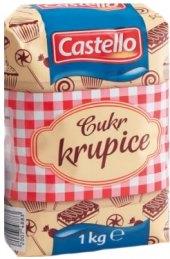 Cukr krupice Castello