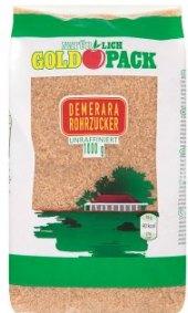 Třtinový cukr Demerara Natürlich Gold Pack