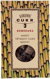 Kostkový třtinový cukr Demerara Korunní
