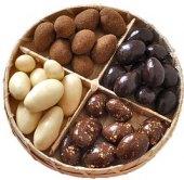 Cukrovinky čokoládové - košík