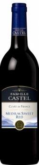 Víno červené Cuvée Famille Castel